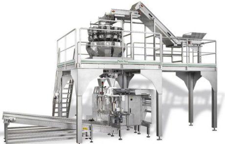 Impianto di pesatura e confezionamento