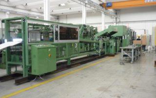 Linea per la produzione di grandi sacchi in carta