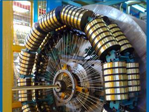 Automazione spiralatrici, per la produzione di tubi in gomma con più calze in acciaio per pressioni di lavoro elevate